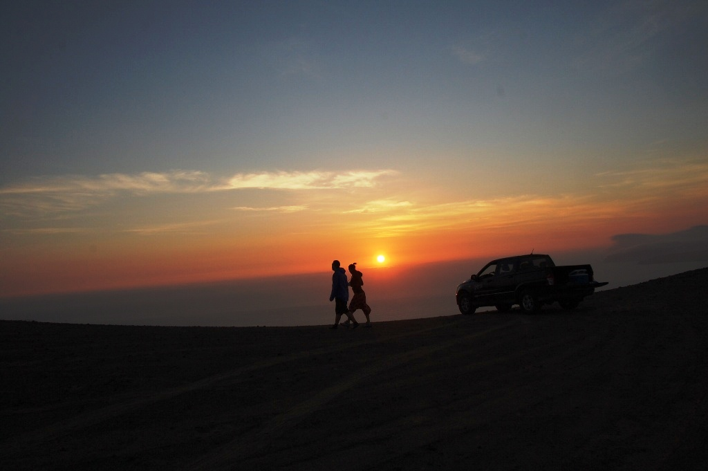 Tramonto in 4x4 a Paracas