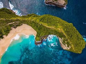 Spiaggia dell'ìIsola di Bali