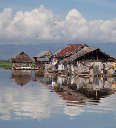 lago-di-galleggiamento-tempe-delle-case.
