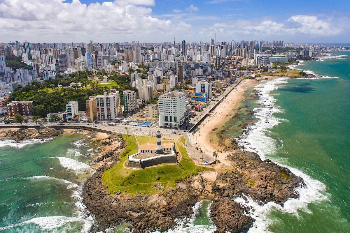 Il faro di Salvador de Bahia