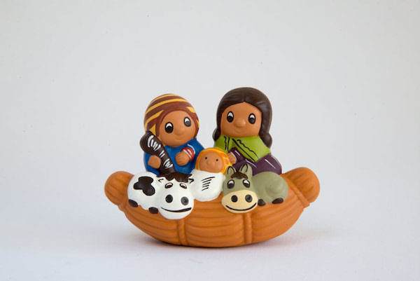 Mini Presepe su Totora