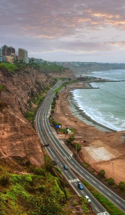 Lima, Costa Nera e Costa Verde