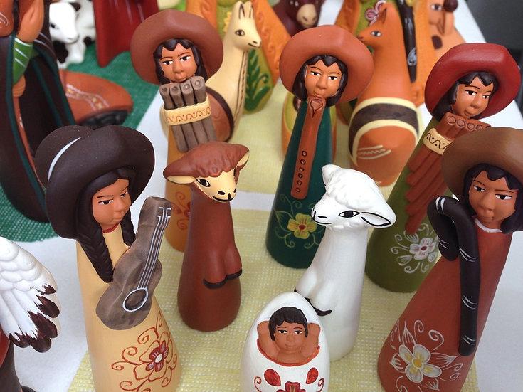 Presepe Tradizionale Peruano stilizzato