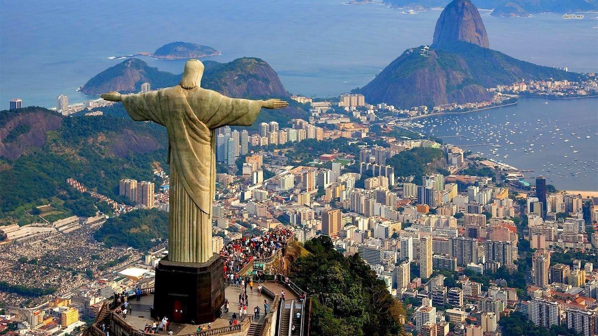 La visita del Cristo redentore di Rio