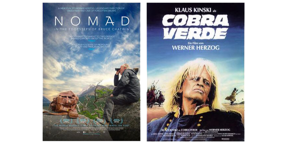 MOVIE    Werner Herzog e Bruce Chatwin