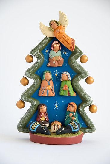 Albero di Natale Azzurro