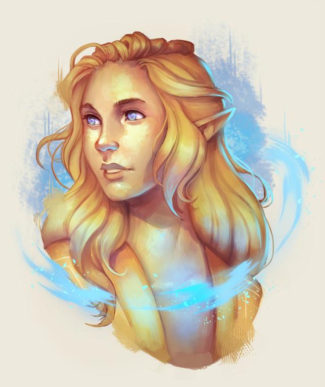 Lady Senta, healer