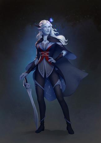 Heroic Moon Elf - Lisa Telanar