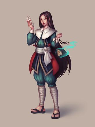 Hazuka, Human Cleric