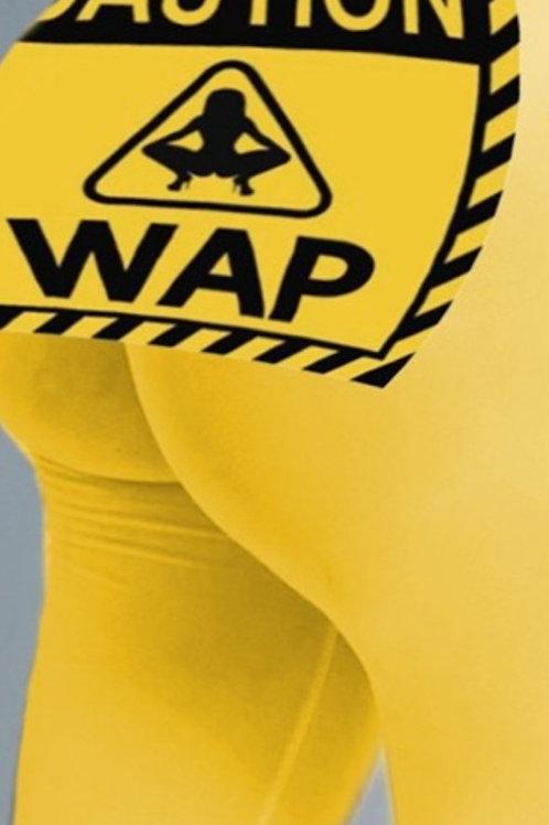 Yellow WAP Pants