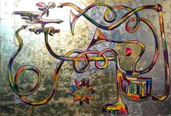 새와 대화하는 프랜스시 100F oil on canvas 2015.jpg