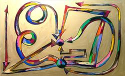 비본질은 본질을 사랑하고 본질은 비본질을 경멸한다. 116.8*72.7cm oil on canvas 2015.jpg