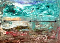 단일 상황의 영원한 중용  90.9*65.1cm oil on canvas 2015.jpg
