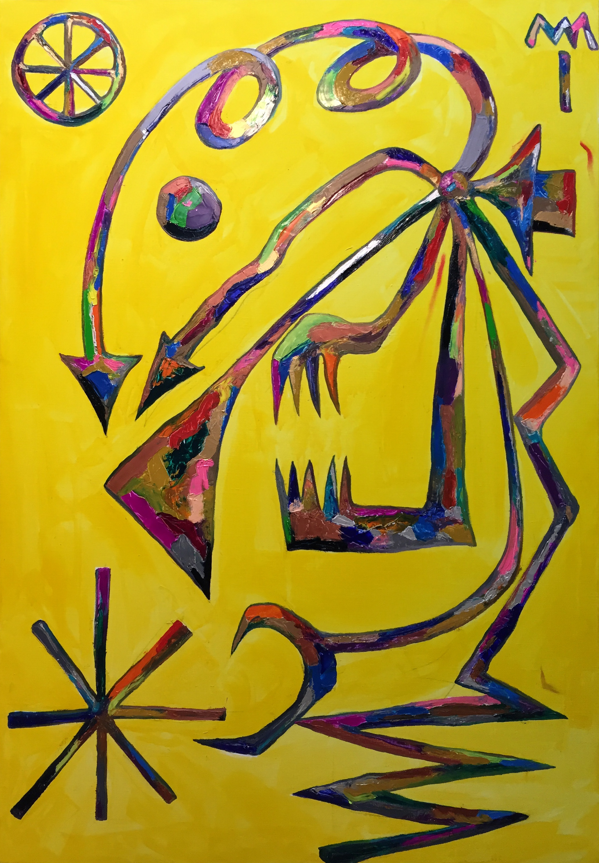 critical indicator(study of Sculptors) 162.2*112.1cm oil on canvas 2015.jpg