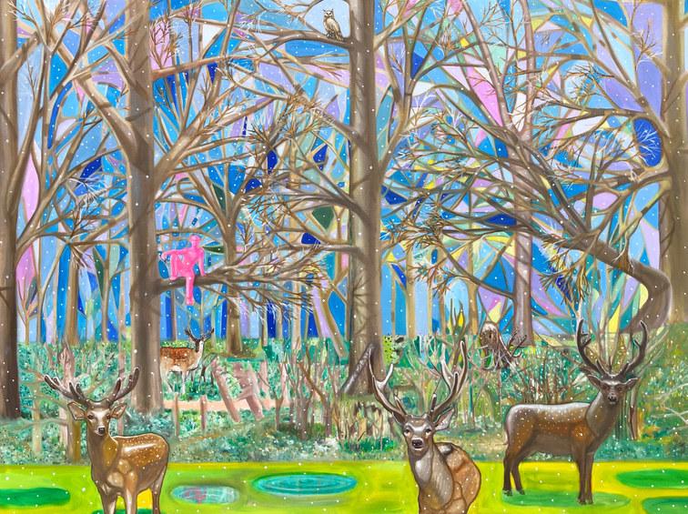 나무 위에서 60F oil on canvas 2019.jpeg