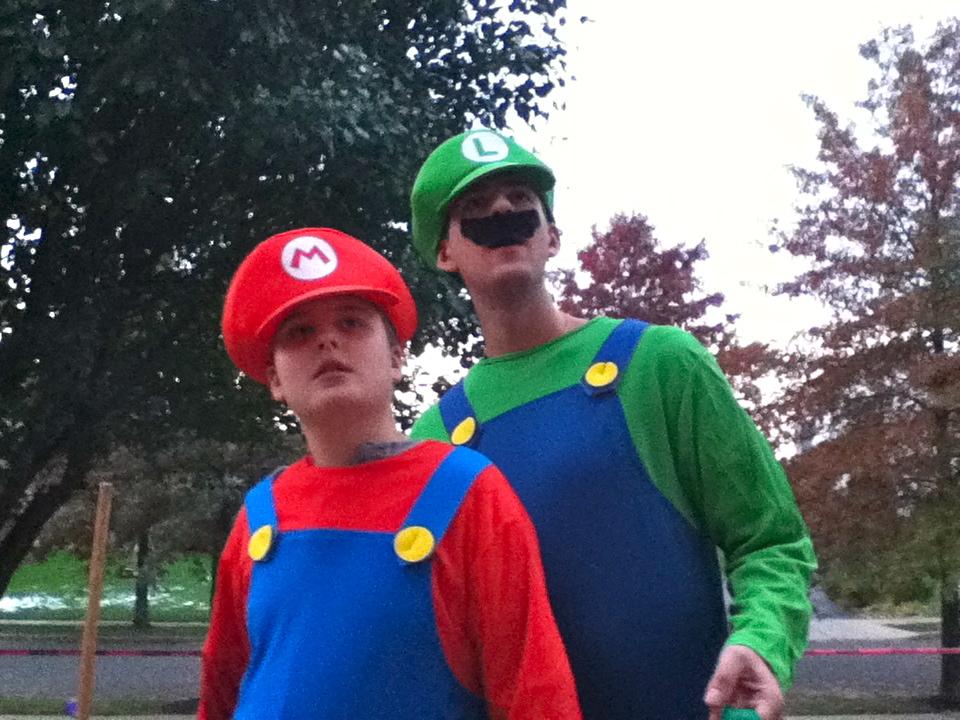 Wb as Mario