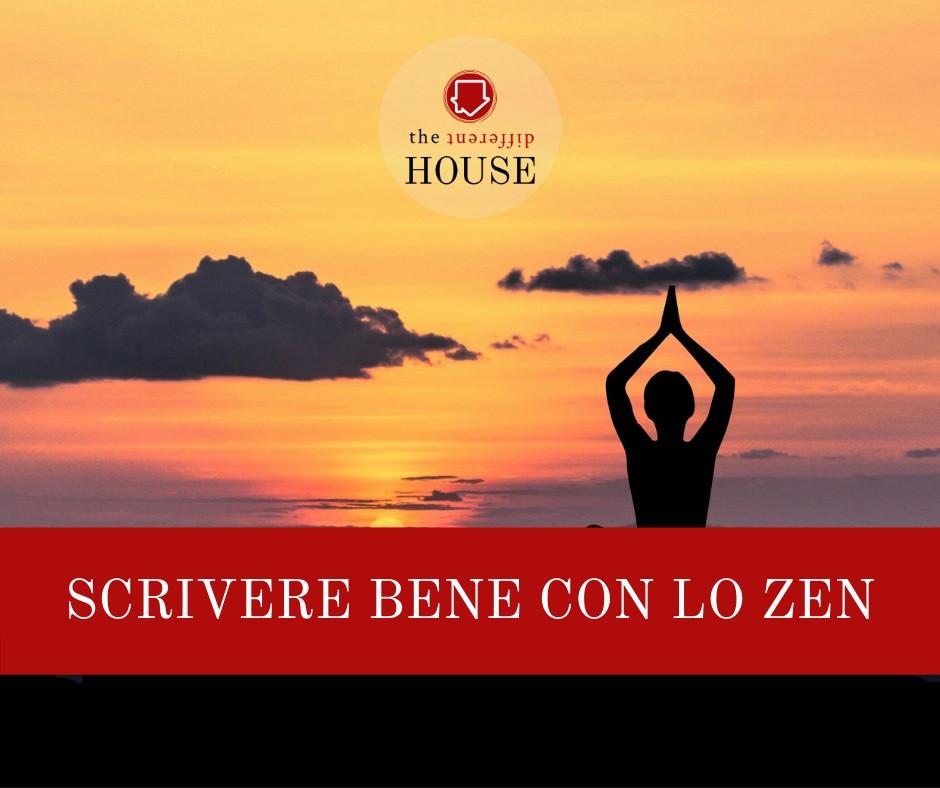Scrivere bene con lo zen