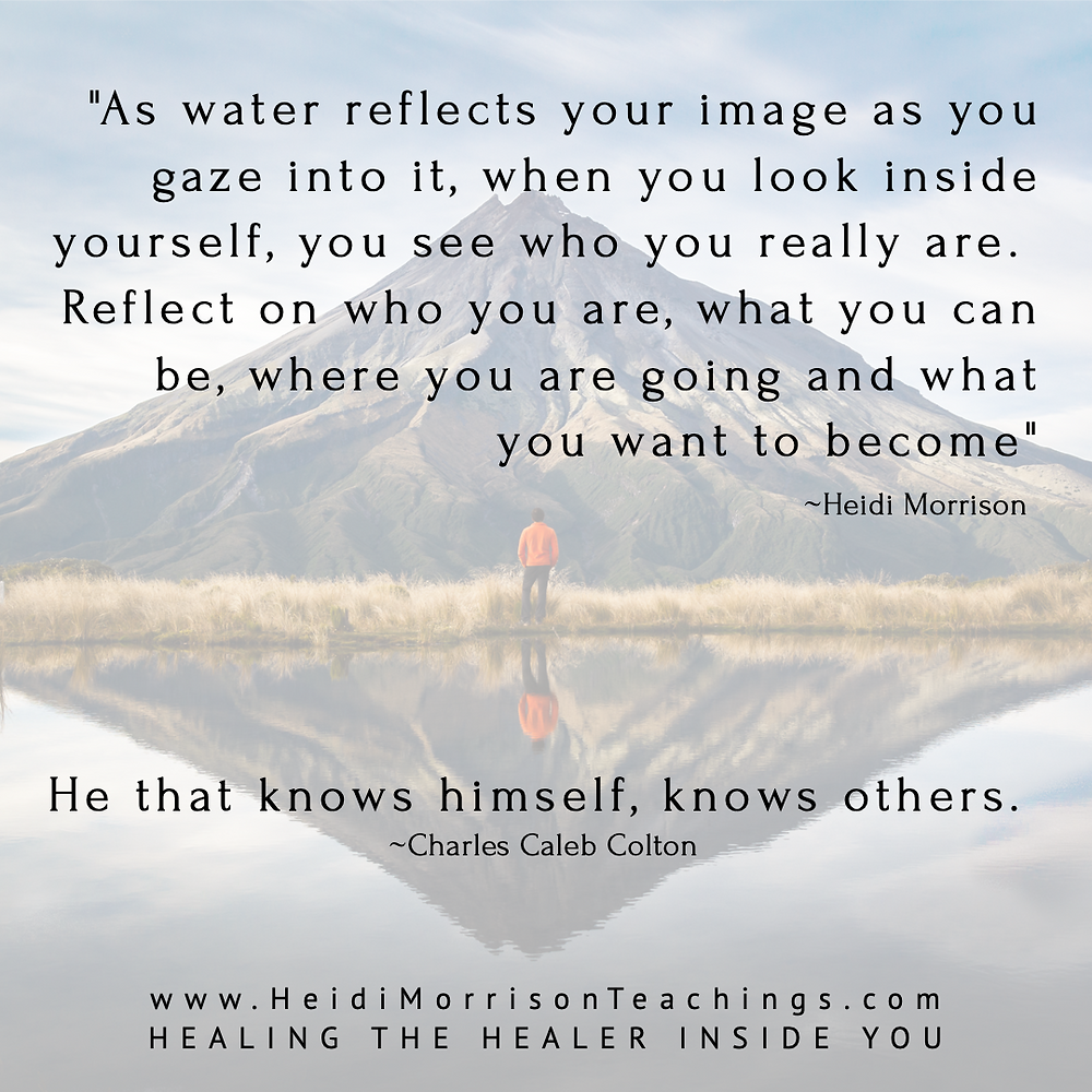 reflection#water#inside#above#bellow#universe#reflect#heidimorrisonteaching#healingthehealerinsideyou#become#awareness#selflove#love.