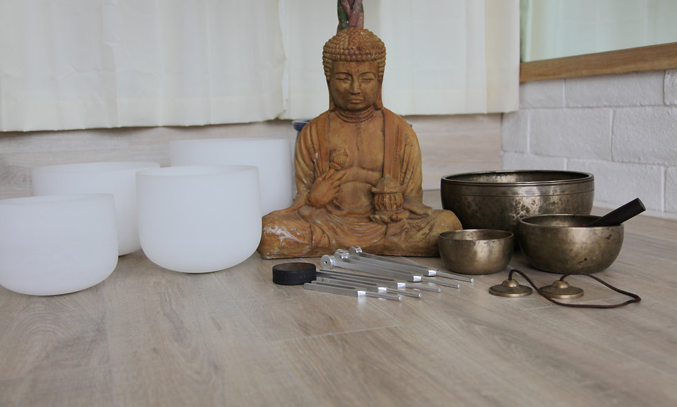 Group Sound Bath -Breathwork - Meditation session