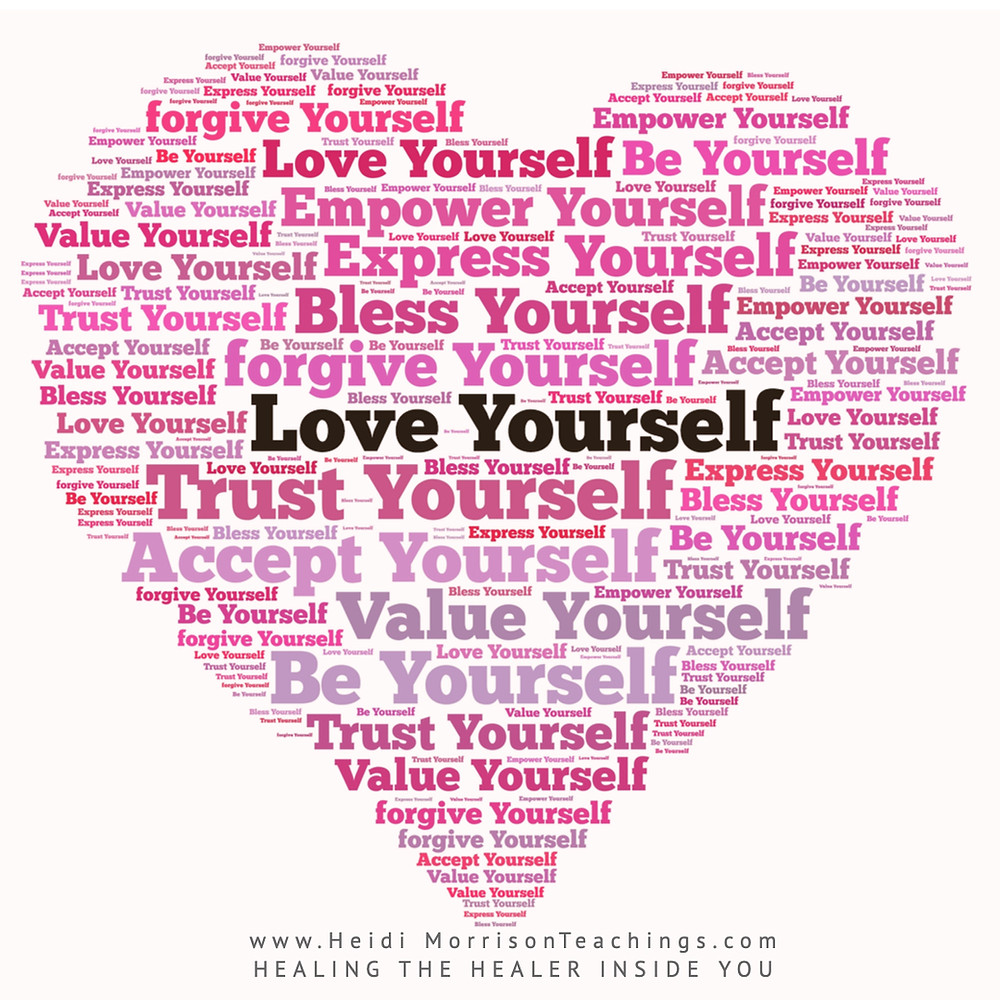 selflove#value#trust#forgiveness#acceptance#empower#express#bless#be yourself#heart#pink#unconditionalLove#