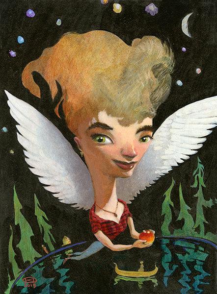 Angel Mama on Paper