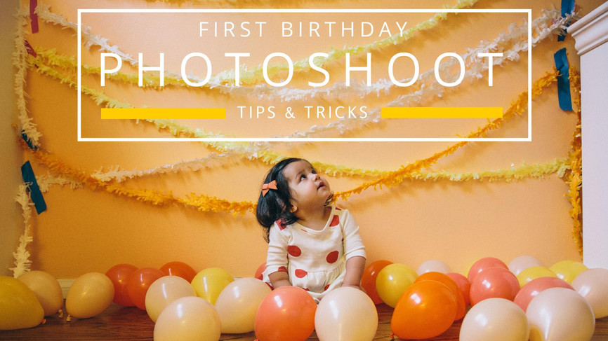 Tips & Tricks to make your Photoshoot a success!