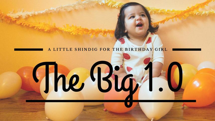 Happy Birthday Little One!