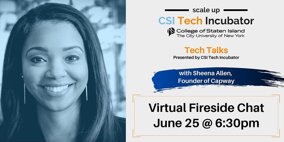 Tech Talks with Sheena Allen, Founder of Capway
