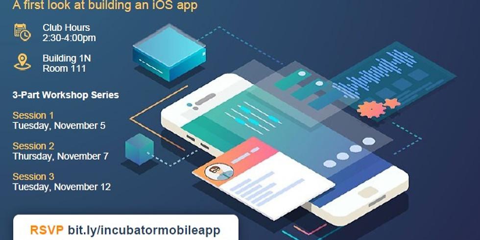 iOS Mobile App Development - Session 1