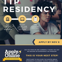 TTP Cohort #2 | App Deadline Extended to Nov 8
