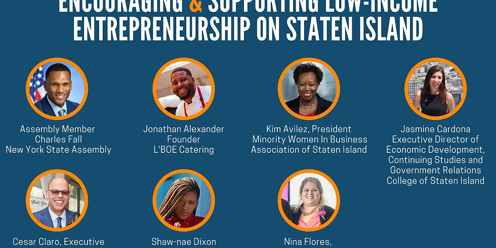 Encouraging & Supporting Low-Income Entrepreneurship on Staten Island.