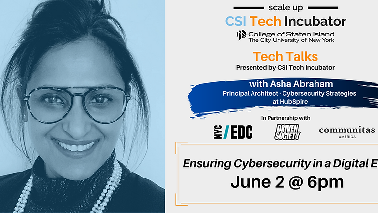 Tech Talks   Asha Abraham, Cybersecurity Strategies at HubSpire