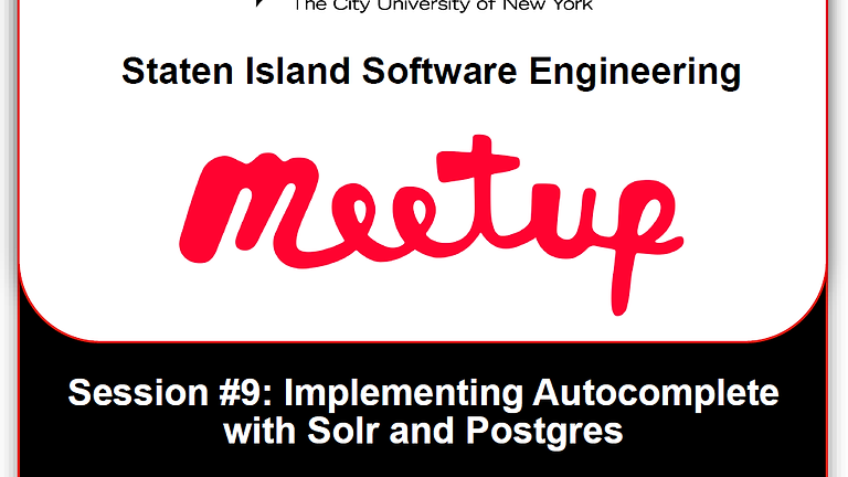 Staten Island Software Engineering Meetup #9