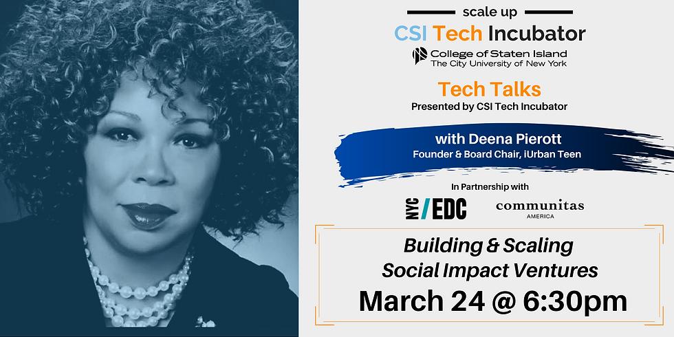 Tech Talks | Deena Pierott, Founder of iUrban Teen