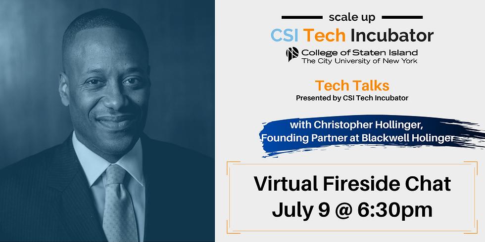 Tech Talks with Christopher Hollinger, Founding Partner at Blackwell Hollinger