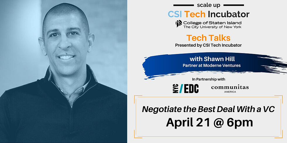 Tech Talks | Shawn Hill, Partner at Moderne Ventures