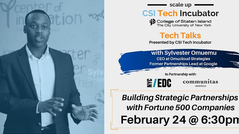 Tech Talks   Sylvester Omuemu, Former Partnerships Lead at Google