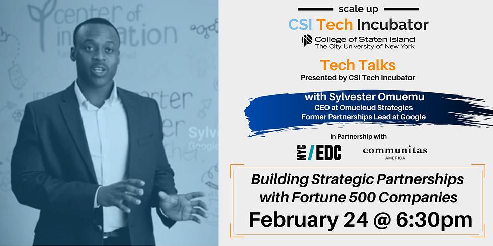 Tech Talks | Sylvester Omuemu, Former Partnerships Lead at Google
