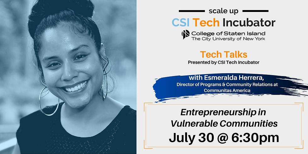 Tech Talks with Esmeralda Herrera, Director of Programs & Community Relations at Communitas America