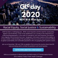 GIS Day 2020 | November 18 & 19
