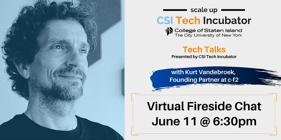 Tech Talks with Kurt Vandebroek, Founding Partner at c-f2