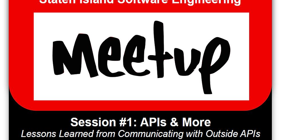 Staten Island Software Engineering Meetup #1