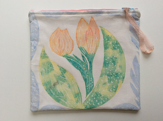 Deco Tulip ipad Bag