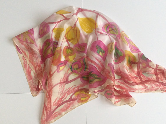 Heart Leaf Scarf