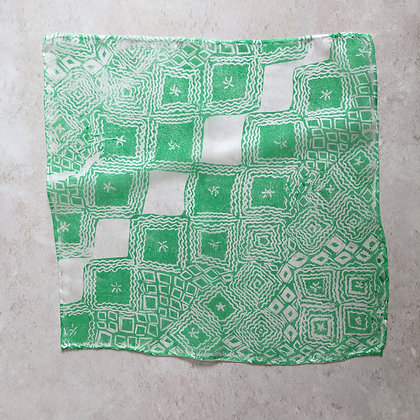 Lino Cut Lace Silk Square