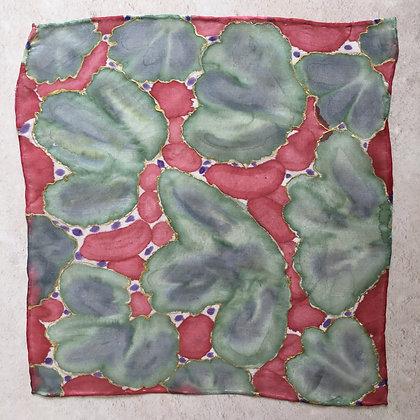 Succulents Silk Square
