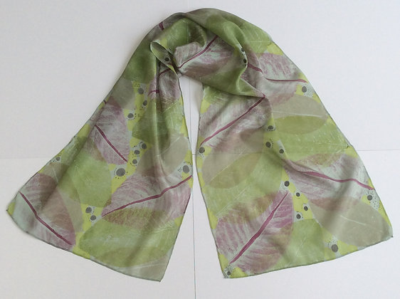 Large Leaf Scarf