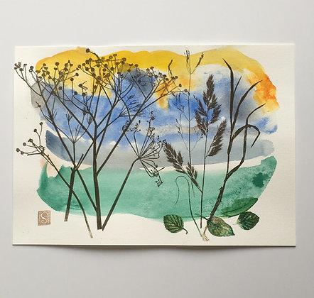 'Wild Grasses I'