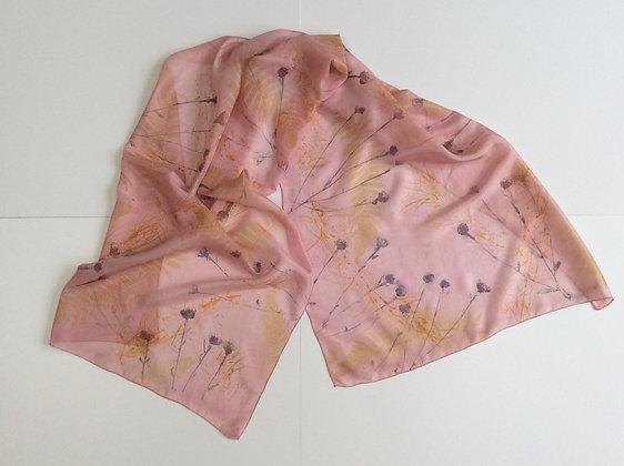 Autumn Hedgerow Silk Scarf