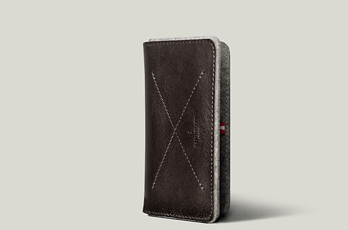 iPhone Fold Wallet \ Smoke